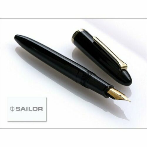 "【SAILOR】/"" Professor /"" fountain pen JAPAN NEW COOL classical Black,Nib:MF"
