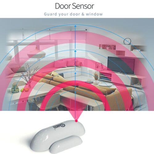 Z-wave Door Sensor Detect Door Status Intrusion Detection Z-wave Device 6D
