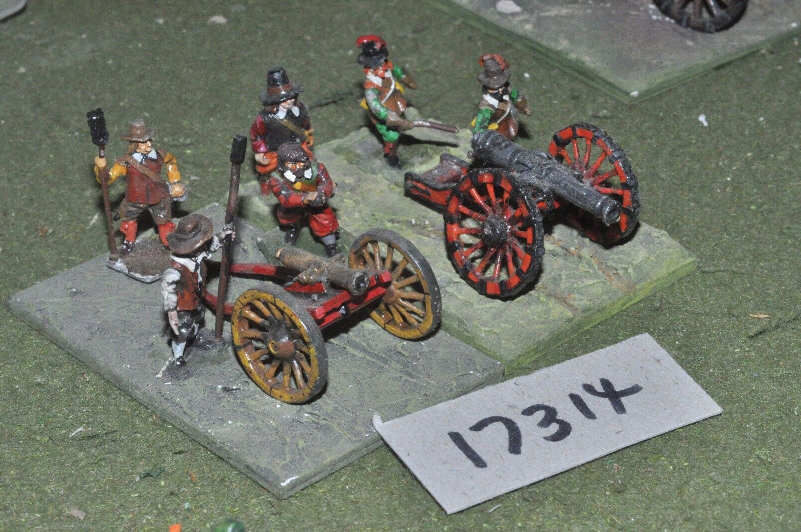 25mm ECW   english - civil war artillery - art (17314)