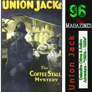 The-Union-Jack-Library-Action-amp-Adventure-Detective-Murder-amp-Crime-stories