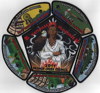 2017 National Scout Jamboree Heart of Ohio Council 6pc Set JSP NJ2041