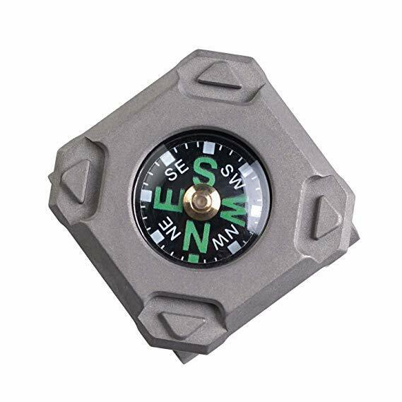 CPW Titanium Copper Watchband Compass, Fluorescence-Glow, MecArmy