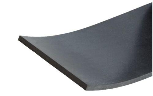 Gummistreifen in der Größe 1000x80x3mm Gummi Matte Auflage Gummiauflage Platte