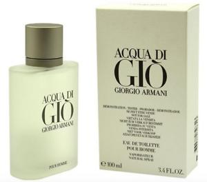 Acqua Di Gio 3.4 Oz Men Spray EDT Cologne Giorgio Armani New