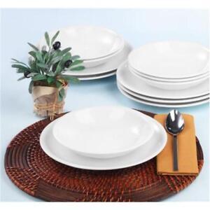 seltmann compact wei tafelservice 12 tlg speise service essservice 6 personen ebay. Black Bedroom Furniture Sets. Home Design Ideas