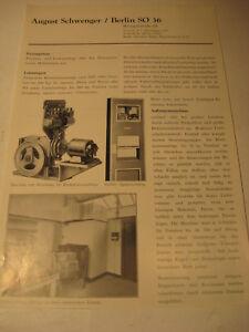 Berlin-Firma-August-Schwenger-Aufzuege-Wrangelstr-Werbeblatt-1944-48-Advertising