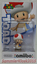 Toad amiibo personaggio-Super Mario COLLECTION NUOVO OVP NINTENDO WIIU 3ds