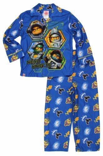 Lego Nexo Knights Little Boys Flannel Coat Style Pajamas Set F16B30NK