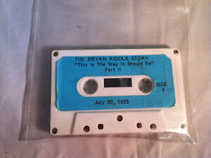The-Bryan-Riddle-Story-034-This-Is-The-Way-It-Should-Be-034-Part-II-Audio-Cassette