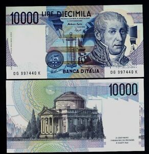 "10.000 Livres Volta Lettre "" G "" Fds Ass W5gihtjr-08005941-449628570"