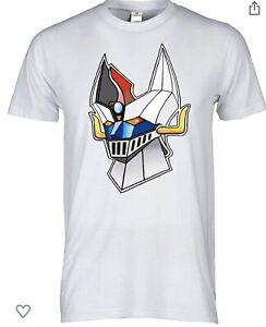 T-Shirt-Goldrake-Maglietta-Cartoons-Robot-80-Maglia-Grendizer-Jeeg-Robot-Mazinga