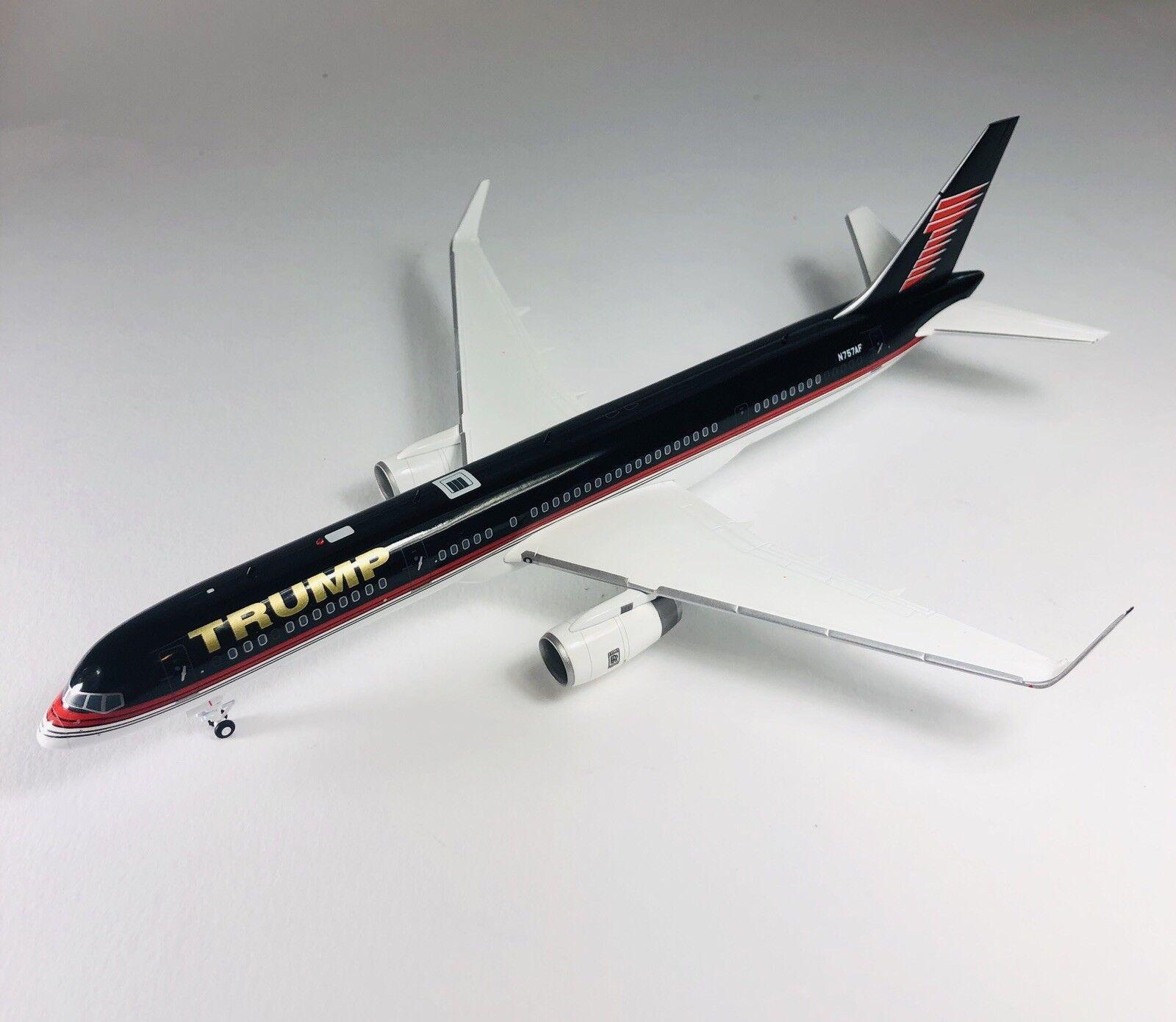 barato en línea Gemini Jets 1 200 Trump B757-200 N757AF Modelo Diecast Diecast Diecast  Más asequible