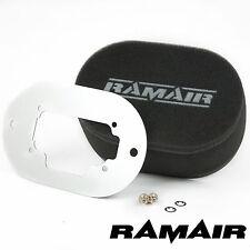 Ramair Alto Flujo Carb filtros de aire con placa base Weber 32/36 DGV 100 Mm Perno De