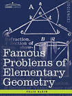 Famous Problems of Elementary Geometry: The Duplication of the Cube, the Trisection of an Angle, the Quadrature of the Circle. by Felix Klein (Paperback / softback, 2007)