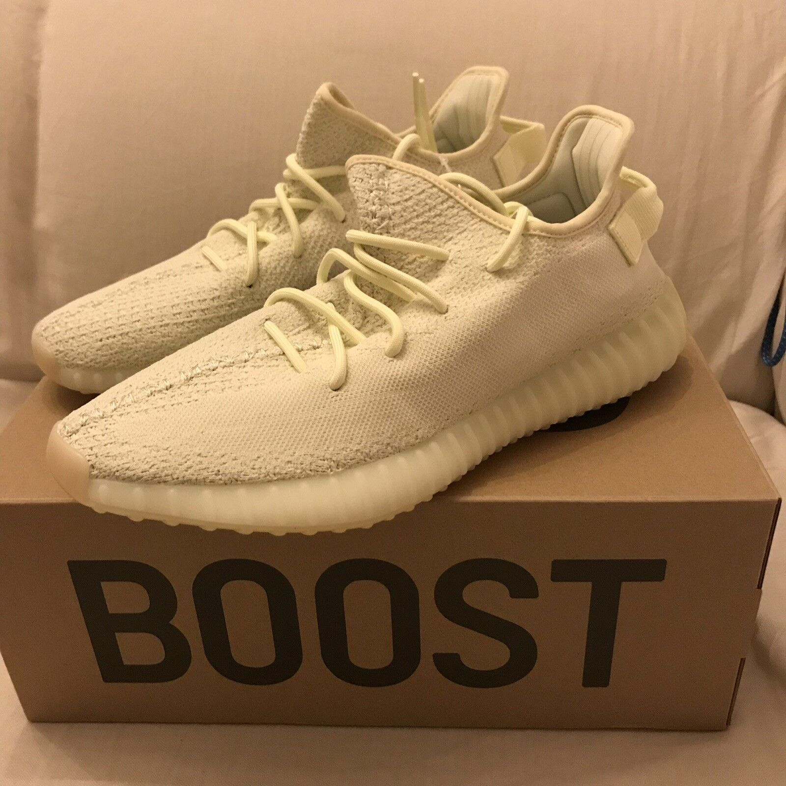 Adidas Yeezy 350 V2 Boost Butter F36980 Brand Brand Brand New Size 11.5 100% Authentic 3859da