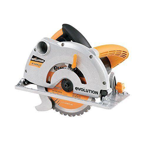 Evolution Rage1-b Multi-purpose Circular Saw, 185 Mm 230v