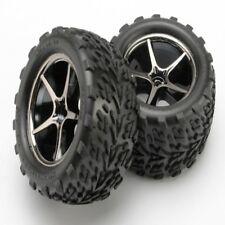 Traxxas 7174A Mounted Talon Tires w/ Gemini Wheels (2) E-Revo