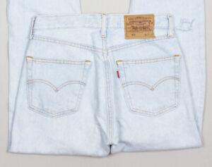 Vintage Levi's Strauss & Co Women 501 Regular Fit Jeans Size W28 L29