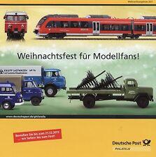 Prospekt 2011 Deutsche Post Modellauto Modellbahn Büssing LU11 Magirus S3500 THW