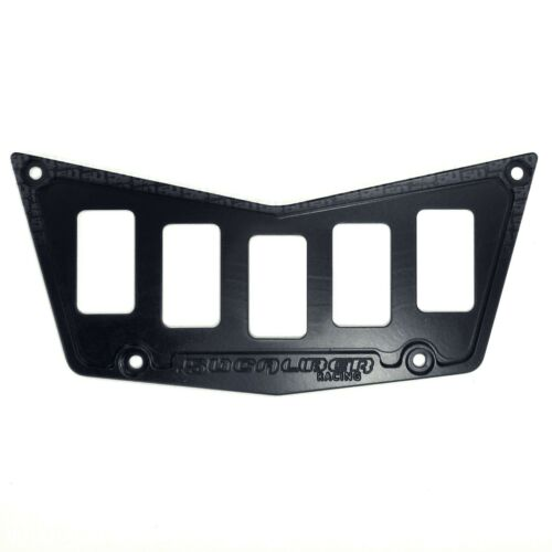 5 Switch Dash Panel Black Powdercoated no Switch for Polaris RZR 570 800 LE UTV