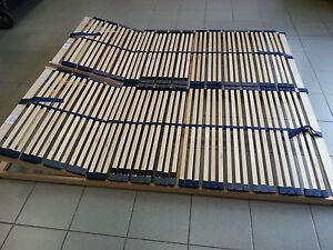 2 Stück 7 Zonen Lattenrost 70x200 K /& F = 140x200