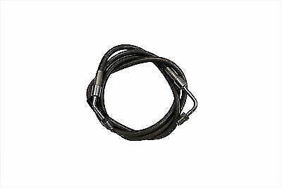 Stainless Steel 45  Front Brake Hose for Harley Davidson by V-Twin