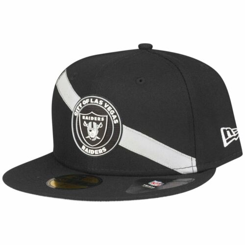 STRIPE Las Vegas Raiders New Era 59Fifty Fitted Cap