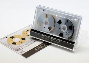 Nuevo-carrete-a-carrete-de-cinta-de-Cassette-Auto-hecha-de-alta-calidad-de-diseno-Color-Plata