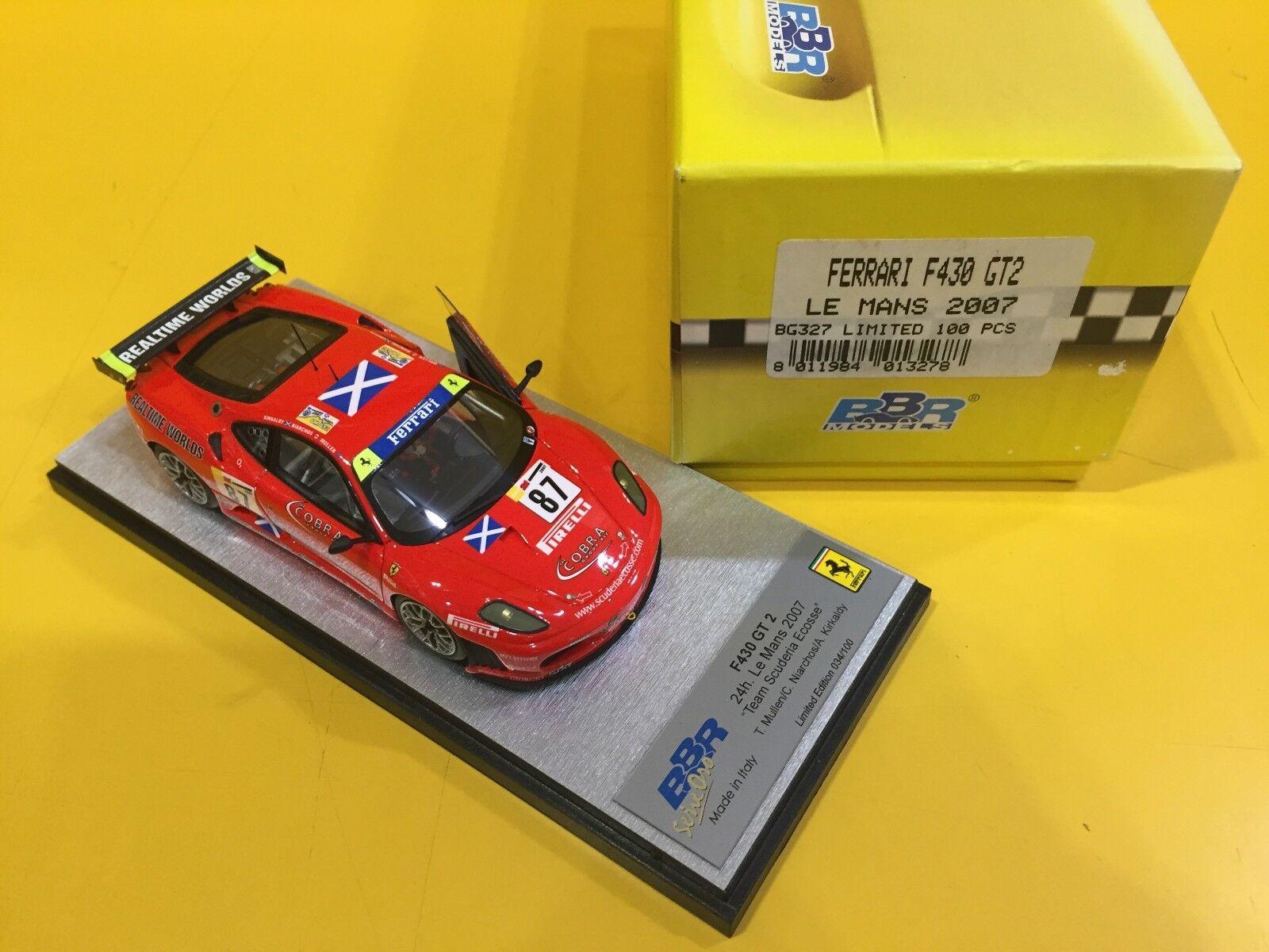 BBR MODELS BG327 - Ferrari F430 GT2 LeMans 2007  87