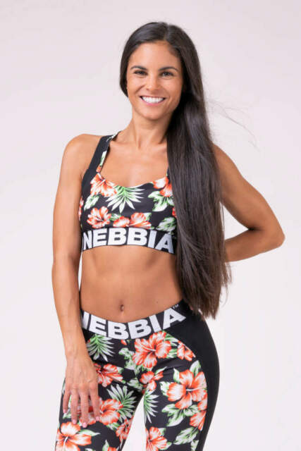Nebbia Beautiful Inside and Out Rainbow Frauen Mini Top 621 Schwarz