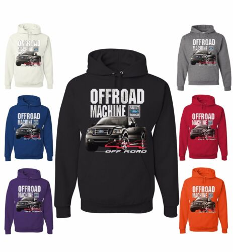 Licensed Ford OFFROAD MACHINE Sweatshirt F150 F-150 4x4 Built Tough Truck Hoodie