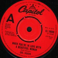 """DR HOOK when you're in love with a beautiful woman/dooley jones uk 7"""" WS EX/"""