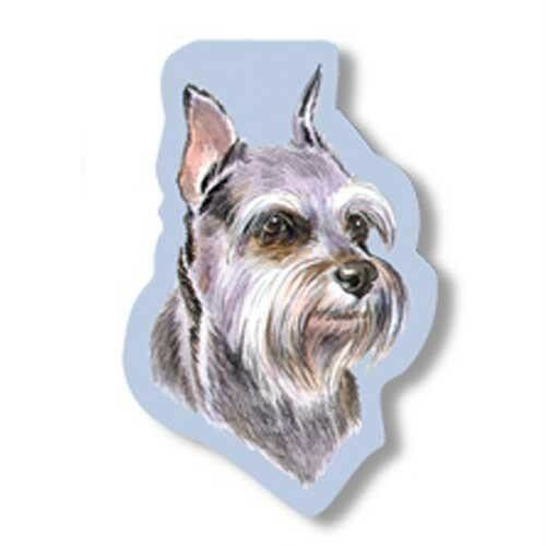 Westport Pet Schnauzer Sealed 75 Sticky Notes Dog Lover  SN026