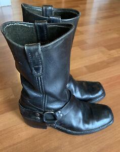 Mustang Men's Baker Motorcycle Boots Size 10 D
