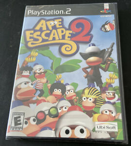 Ape-Escape-2-Sony-PlayStation-2-2003-New-Factory-Sealed-Unopened-Rare-PS2