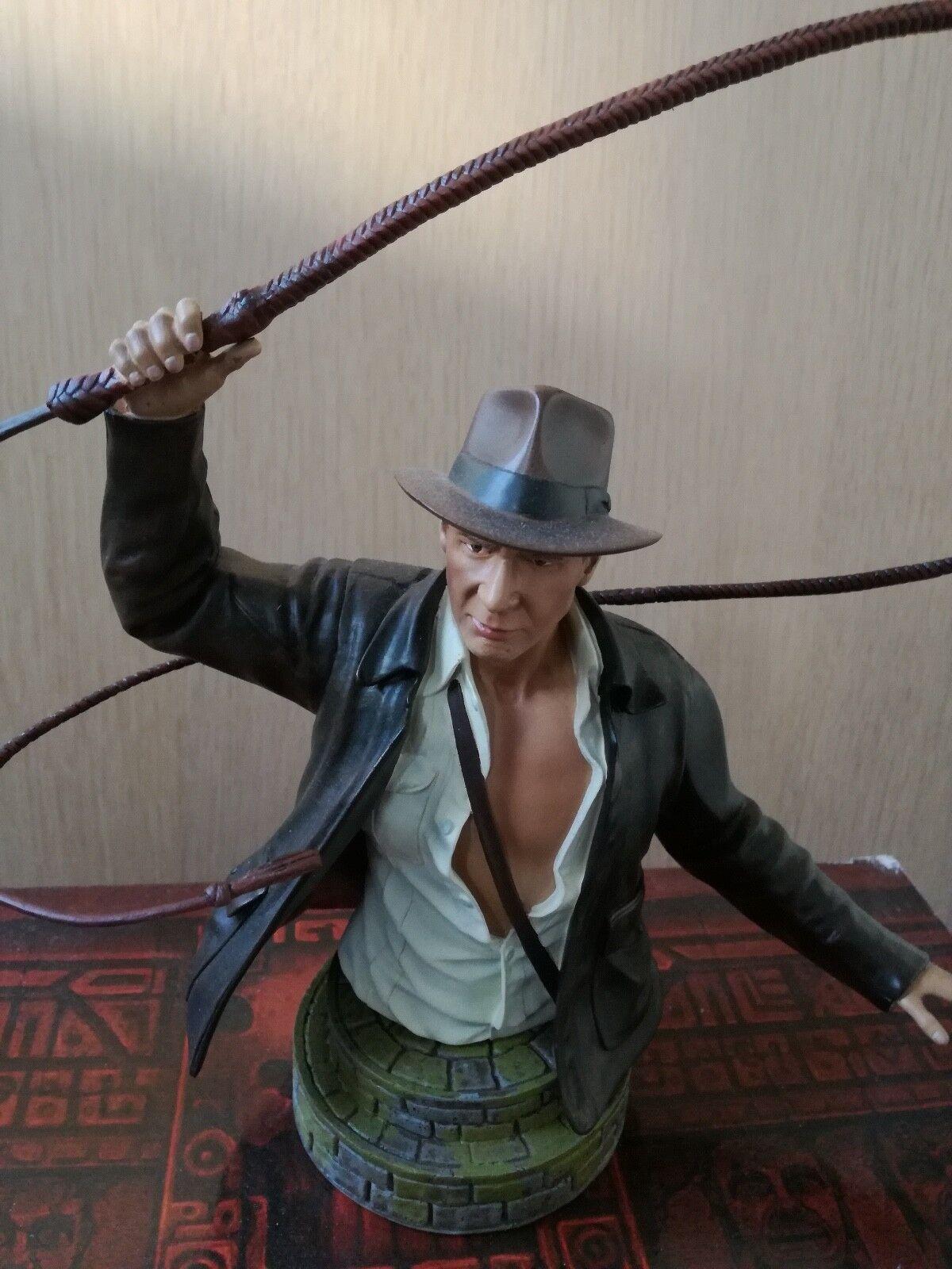 Gentle Giant Indiana Jones Mini Busto Raro 4397 5000