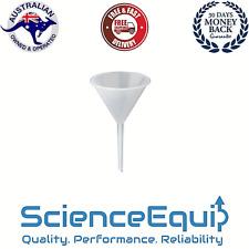 Funnel Long Stem Plastic Chemistry Laboratory Science Equip Oz 1 Pcpk