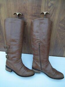 Next Womens Mid-Calf Boots Flats Knee