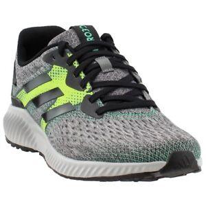 pretty nice 879af 95deb Image is loading adidas-aerobounce-Running-Shoes-Black-Mens