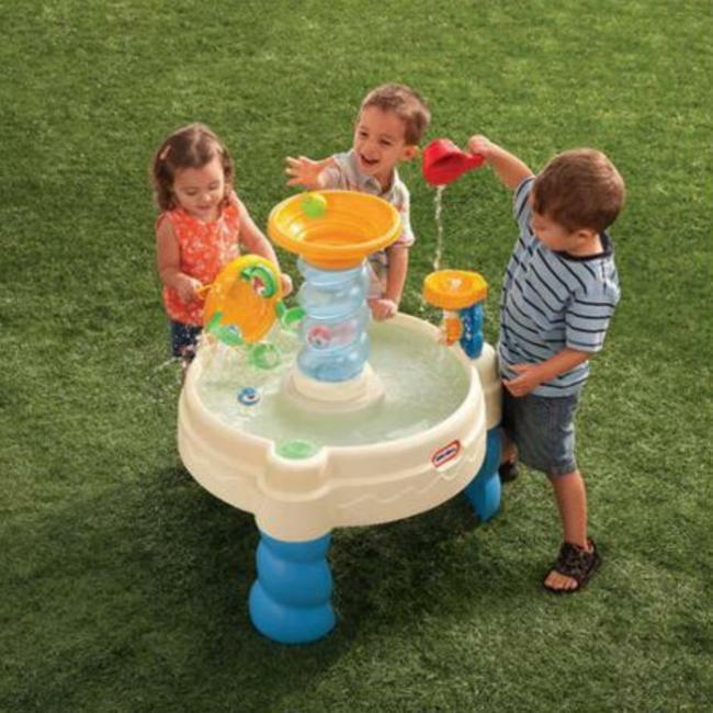 Water Water Water Table Play Outdoor Activity Kids Little Tikes Spiralin' Seas Toys Spinner 78bd3a