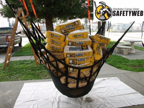 By Gladiator Cargo Gear LSW-100 SafetyWeb Cargo Net Large