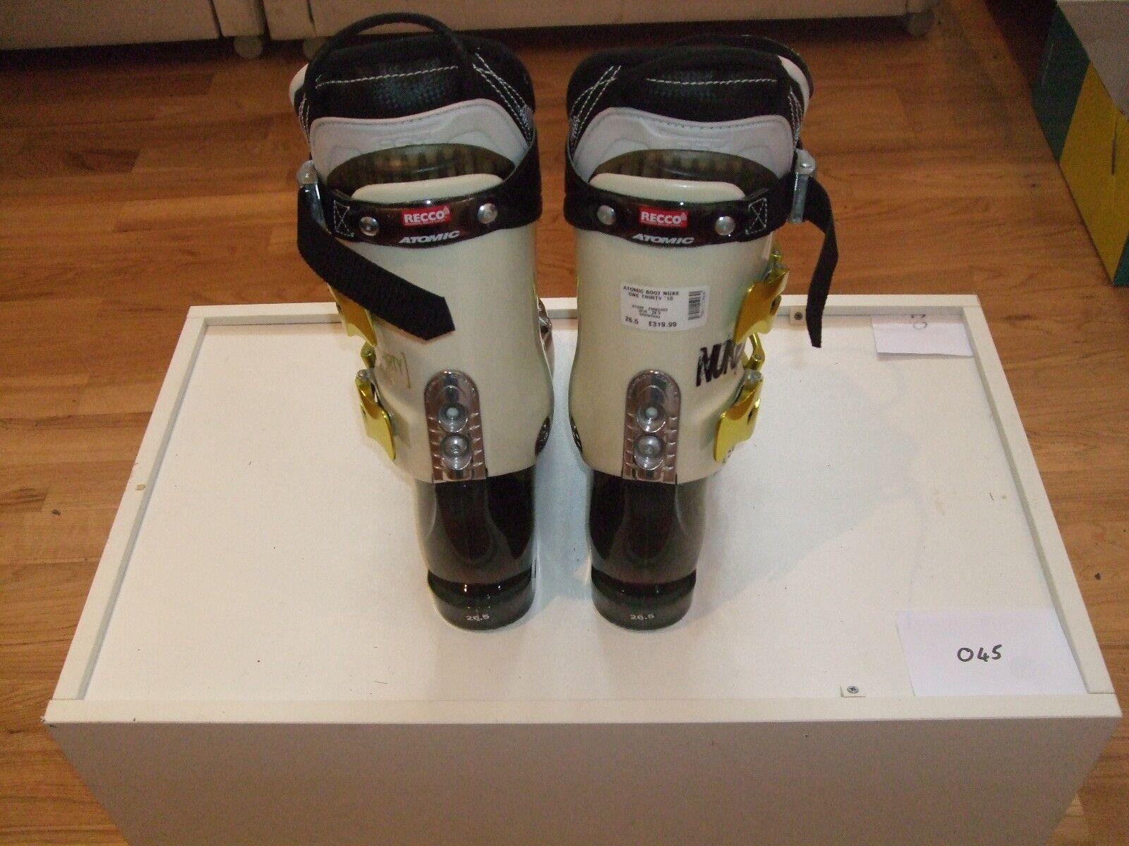 Atomic Nuke 1 Thirty Ski (Größe Stiefel (Größe Ski 26.5) - Great condition (repaiROT) c68862