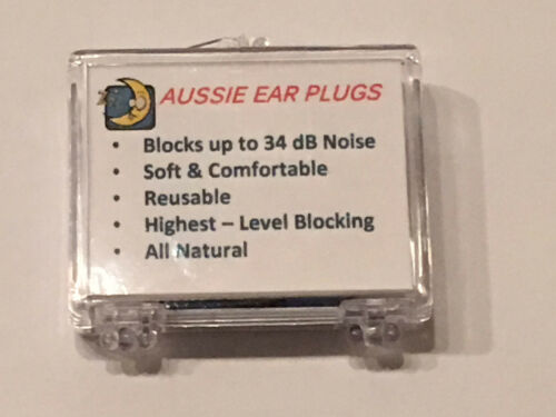 NRR 34 PERFECT NOISE BLOCKING SLEEP CPAP Ear Plugs 2 or 6 Pairs 1 SNORING