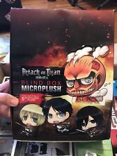 Attack on Titan Micro Plush POP Blind Box Case Lot of 11 Piece lot