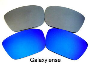 20556c7788d Galaxy Replacement Lenses For Oakley Fuel Cell Blue Titanium Color ...