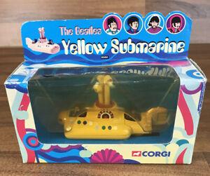 Juguete-Figura-De-Los-Beatles-Corgi-Yellow-Submarine-Lennon-2000-Retro-Vintage-Menta-05404