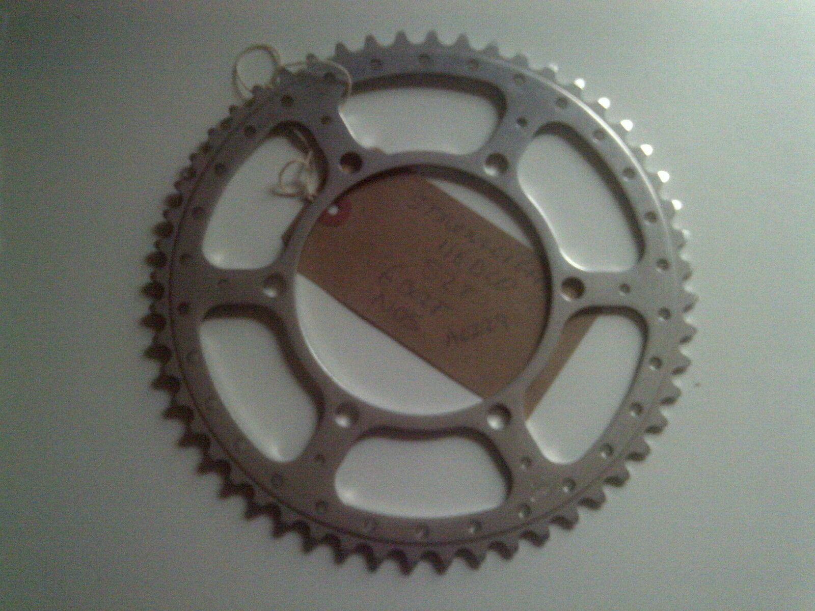 NOS 52 TOOTH STRONGLIGHT 116BCD  3 32   3 6 BOLT CHAINRING
