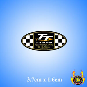 Isle-of-Man-TT-Road-Racing-Capital-of-the-World-Oval-Gel-Badge-Sticker