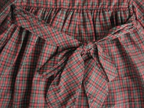 MSRP$70.00 Size 3M, 6M NWT RALPH LAUREN Girls Red Plaid Long Sleeve Dress Set