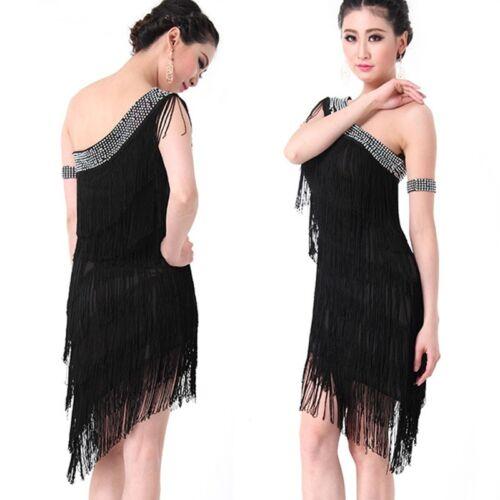 LATIN RHYTHM SALSA BALLROOM COMPETITION DANCE DRESS COSTUME SIZE S M L